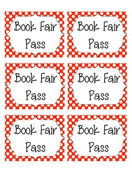 Book Fair Pass
