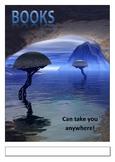 Book Fair Poster - Science Fiction Theme