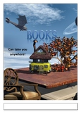 Book Fair Poster1 - Books can take you anywhere.