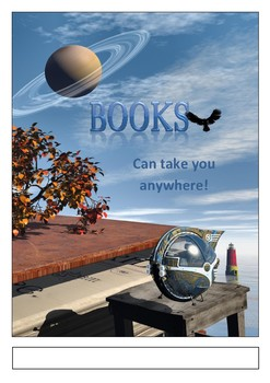 Book Fair Poster2 - Books can take you anywhere.