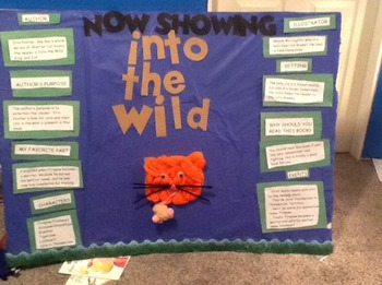 Book Fair Project 3rd-5th Fiction and Non-Fiction