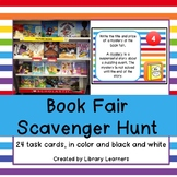 Book Fair Scavenger Hunt Task Cards