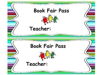 Book Fair pass 1