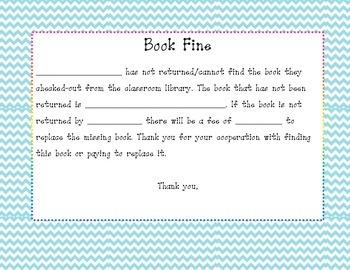 Book Fine