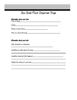 Book Float Book Report