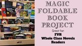 Book Foldable Project - FVR, Free reading, Reading, Writing