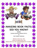 WORLD BOOK DAY: Amazing Book Factoids: FREEBIE!