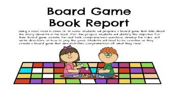 Book Game Book Report