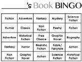 Book Genre BINGO