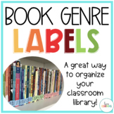 Book Genre Labels: A Great Way to Organize Your Classroom
