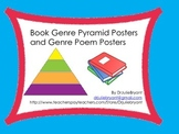 Book Genre Pyramid Posters and Genre Poem Posters