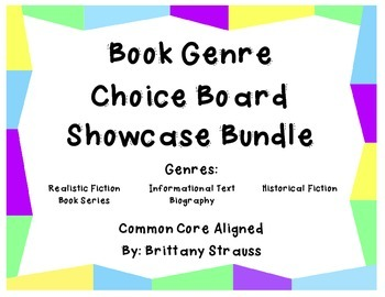 Book Genre Showcase Bundle