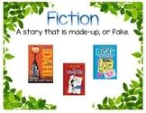 Book Genre Signs