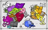 Book Genres Map
