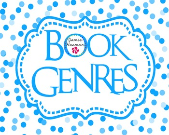 Book Genres Poster Set