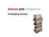 Book Genres Powerpoint