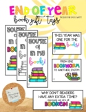 Book Mark Gift Tag: End of Year *EDITABLE