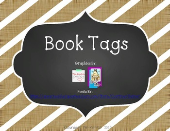 Book Gift Tags