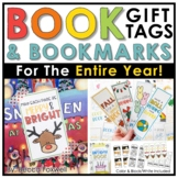 Book Gift Tags & Bookmarks