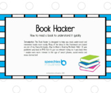 Book Hacker: How to read a book to understand it quickly
