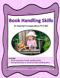 Book Handling Skills: An Essential Concepts About Print Skill