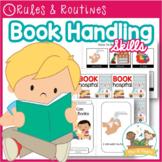 Book Handling Skills - Booklet, Read Aloud, Posters, Cards