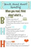 Retro Book, Head, Heart Anchor Chart plus more!