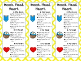 Book, Head, Heart Reading