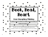 Book, Head, Heart from Disrupting Thinking