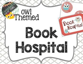 Owl Theme {Book Hospital}