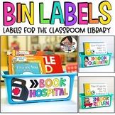 Book Hospital | Book Return | Book Quarantine | Class Library Bin Labels
