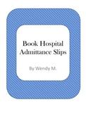 Book Hospital Admittance Slips