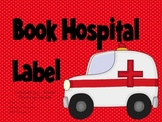 Book Hospital Bin Label