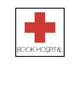 Book Hospital Bucket Label