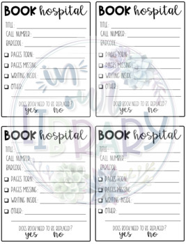 Book Hospital Forms
