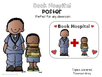 Book Hospital Poster