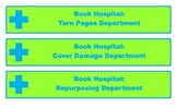 Book Hospital Shelf Labels