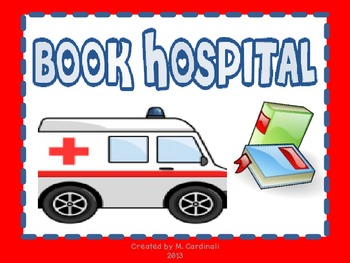 Book Hospital Sign-FREEBIE