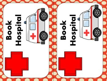 Book Hospital Sign Freebie