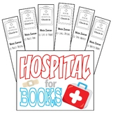 Book Hospital Sign and Tags