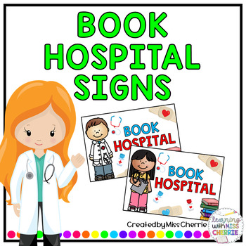 Book Hospital Signs