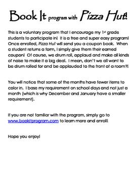 Book It Program
