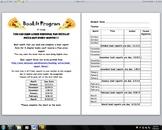 Book It Program Student Tracker