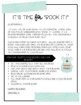Book It Reading Logs
