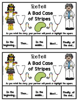 Book It: Retell It, Write It, Make It! (A Bad Case of Stripes)