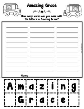 Book It: Retell It, Write It, Make It! (Amazing Grace)