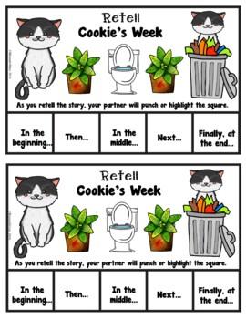 Book It: Retell It, Write It, Make It (Cookie's Week)