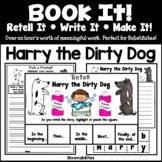 FREEBIE: Book It: Retell It, Write It, Make It! Packet (Ha