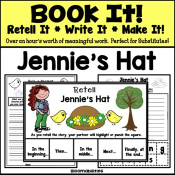 Book It: Retell It, Write It, Make It! (Jennie's Hat)