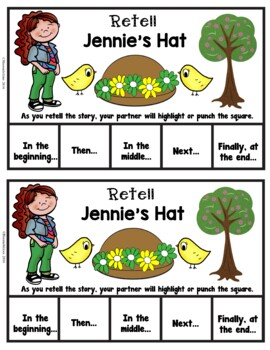 Book It: Retell It, Write It, Make It! (Jennie's Hat)